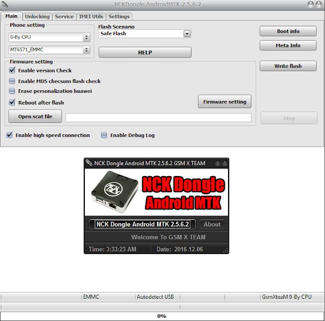 NCK Dongle / NCK PRO Android MTK Module v2 5 7 6 crack 100